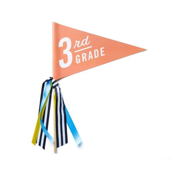 first day of school banner third grade
