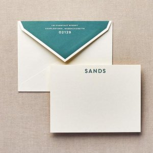 we are family personalized stationery