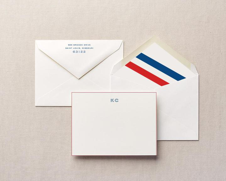 speed reader personalized stationery