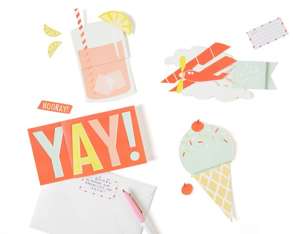 expandable greeting cards summer