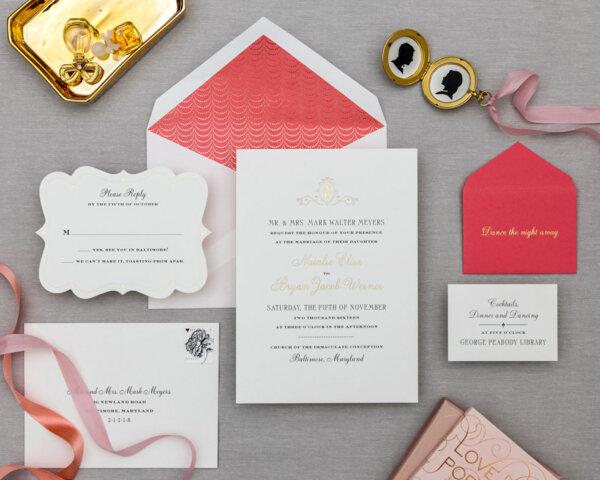golden garland full wedding suite