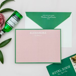 hotel dixie personalized stationery