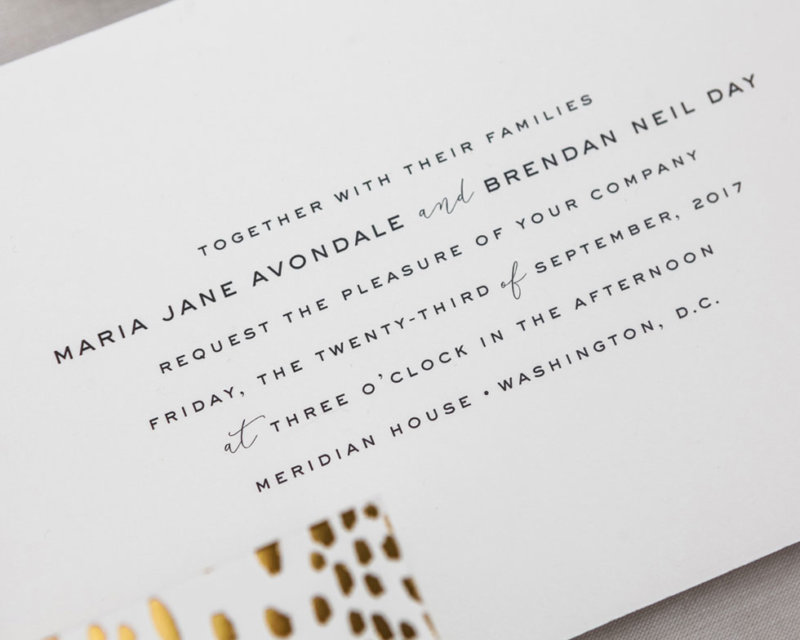 golden divinity invitation text