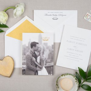 ivy league wedding save the date
