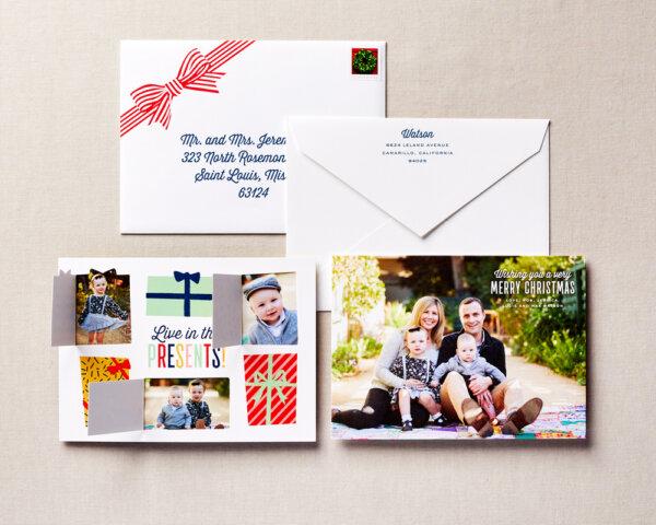 opening doors holiday card