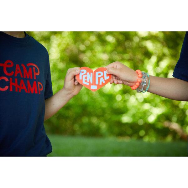 summer camp pen pal cards