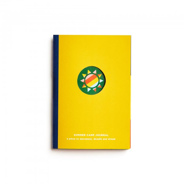 summer camp journal cover