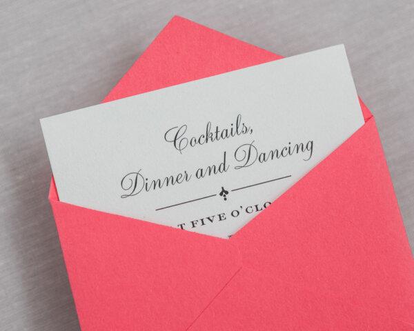 golden garland mini envelope