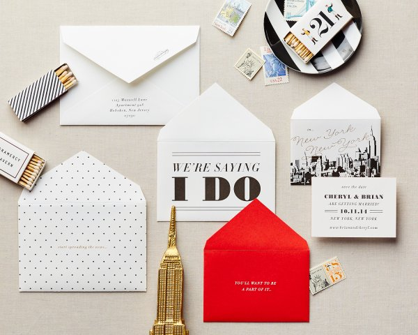nyc envelope series nesting envelopes save the date