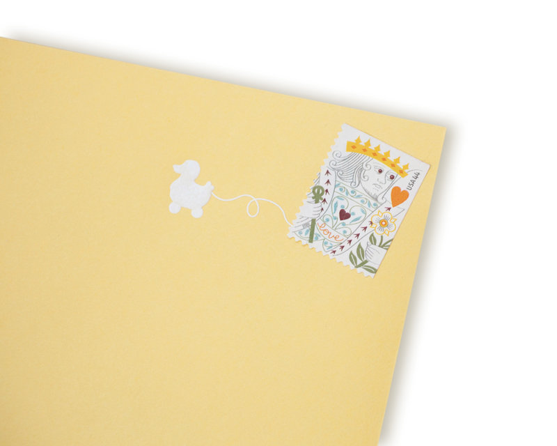 interactive stamp design