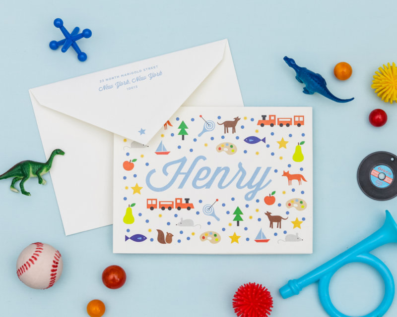 this is me personalized kids stationery set with custom icons