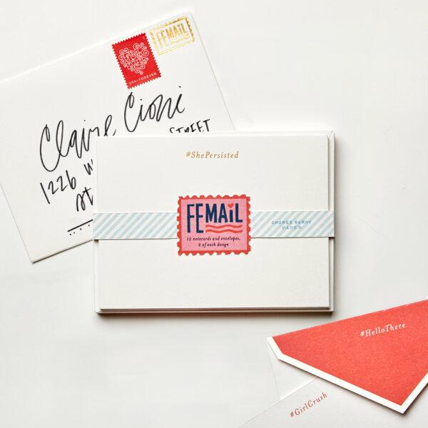 femail boxed stationery set