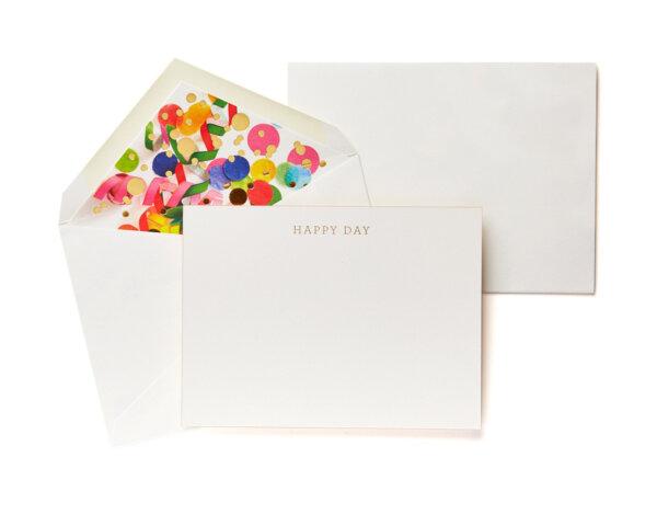 happy day boxed stationery set