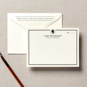 bridgerton inspired stationery