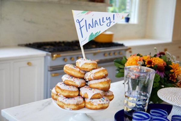 donut tower ideas